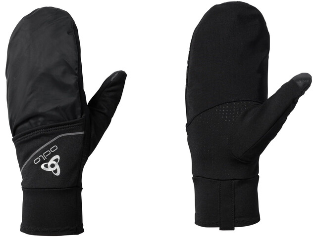 Odlo Intensity Cover Safety Light Guantes, black